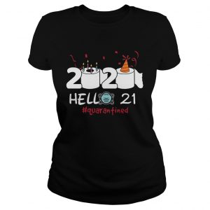 020 Hello 21 Toilet Paper Birthday Cake Quarantined Social Distancing  Classic Ladies