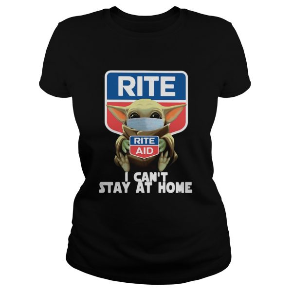 Baby Yoda Hug Rite Aid I Cant Stay At Home Covid19  Classic Ladies