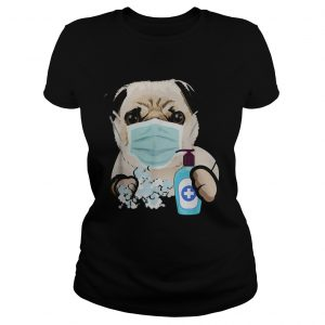 Pug Dog Lover Face Mask  Classic Ladies