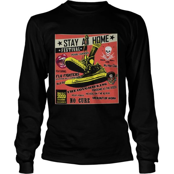 Stay At Home Festival The Coughspring No Cure  Long Sleeve