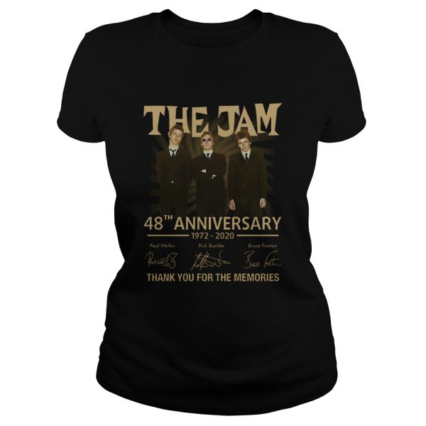 The Jam 48th Anniversary 1972 2020 Thank You For The Memories  Classic Ladies