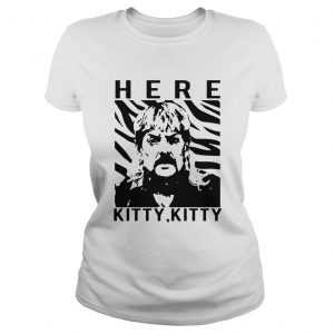 The Tiger King Joe Exotic Here Kitty Kitty  Classic Ladies