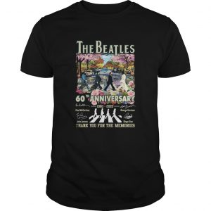 1588598582The Beatles 60th Anniversary 1960 2020 Thank You For The Memories Signatures  Unisex