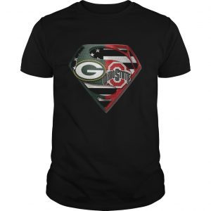 1588599669Green Bay Packers And Ohio State Superman  Unisex