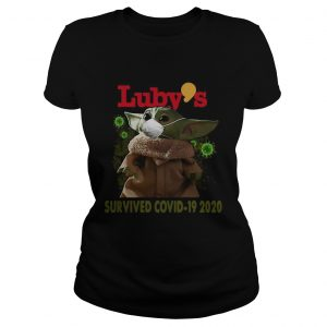 Baby Yoda Mask Lubys Survived Covid 19 2020  Classic Ladies