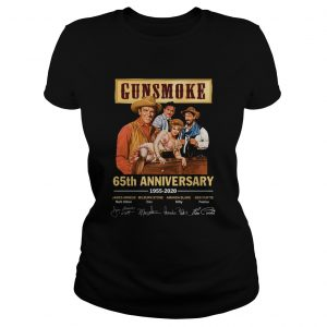 Gunsmoke 65th anniversary 19552020 signature  Classic Ladies