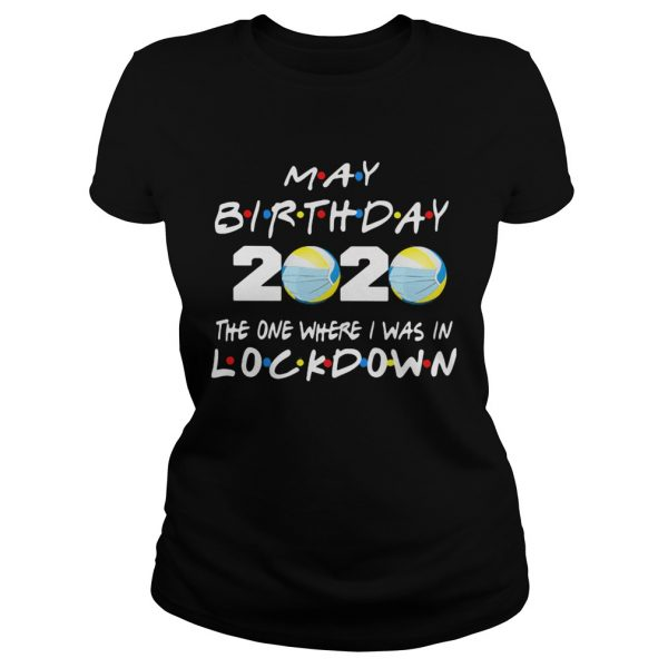 May birthday volleyball 2020 mask the one where I was in lockdown  Classic Ladies