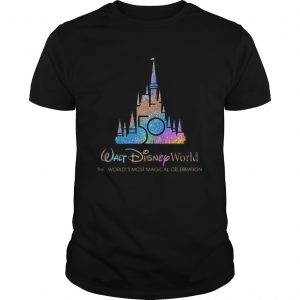 Walt Disney World 50th Anniversary 19702020 The Worlds Most Magical Celebration  Unisex