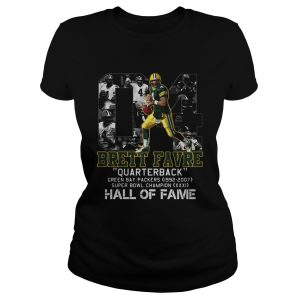 04 brett favre quarterback green bay packers 1992 2007 super bowl champion hall of fame  Classic Ladies