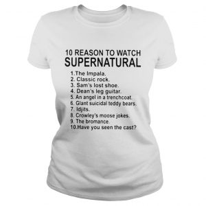 10 Reason To Watch Supernatural  Classic Ladies