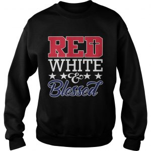 Red White And Blessed  Sweatshirt
