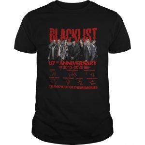07 Year Of Blacklist Thank You For The Memories  Unisex