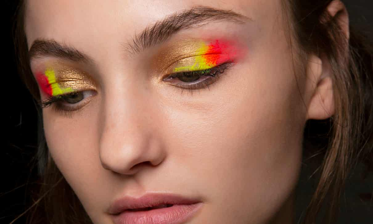 Brighten up with bold colours and glossy skin