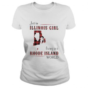 Just an ILLINOIS GIRL living in a RHODE ISLAND world Map  Classic Ladies
