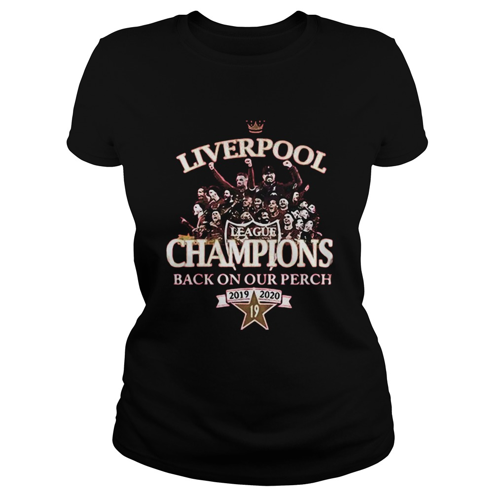 The Best Liverpool Shirt Back