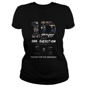 10 Years Of One Direction 2010 2020 Signatures  Classic Ladies