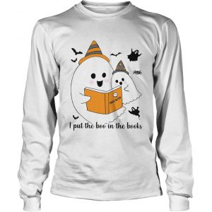 Librarian I Put The Boo In The Book Halloween  Long Sleeve