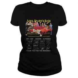 Pretty 10th Anniversary Mrs Browns Boys Thank You For The Memories Signatures  Classic Ladies