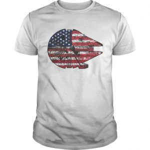 The American Flag Star Wars Millennium Falcon US Space Force  Unisex