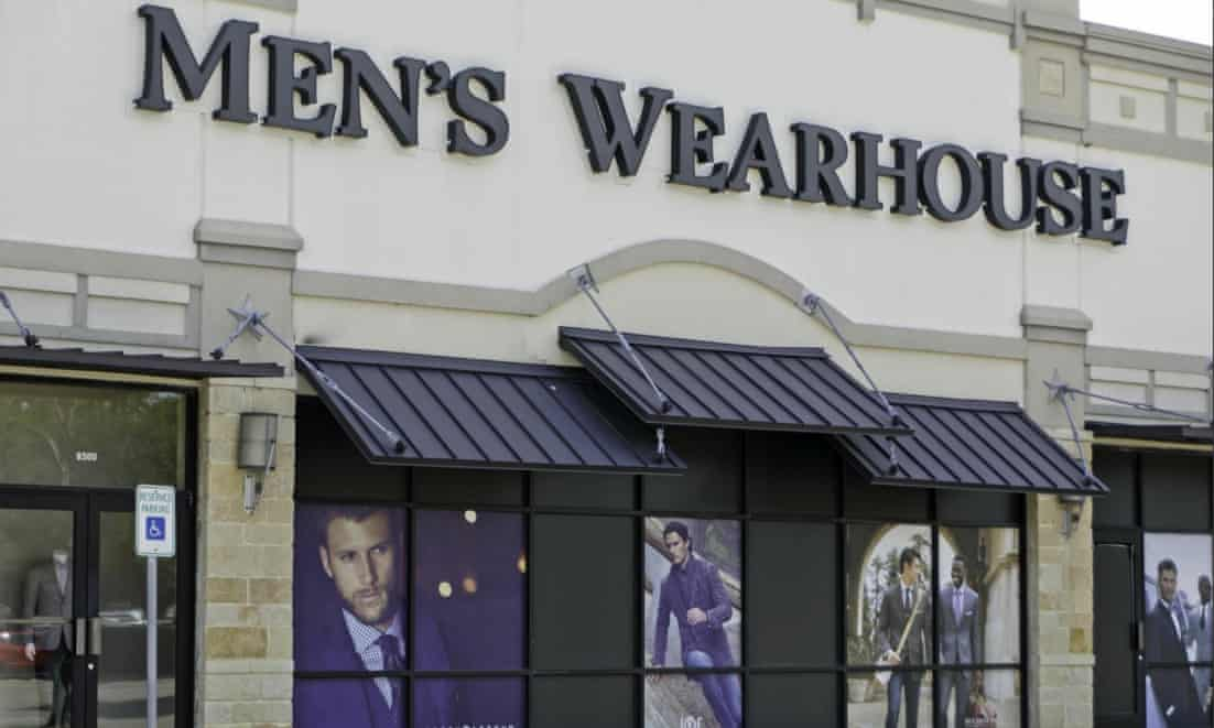 US suit retailer files for bankruptcy as joggers and polo shirts take over