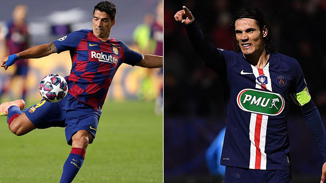 Barca complicates the signing of Suarez Cavani the alternative