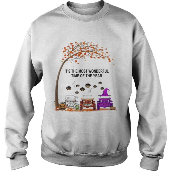 Jeep Is The Most Wondrful Time Of The Year Halloween  Sweatshirt