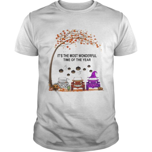 Jeep Is The Most Wondrful Time Of The Year Halloween  Unisex