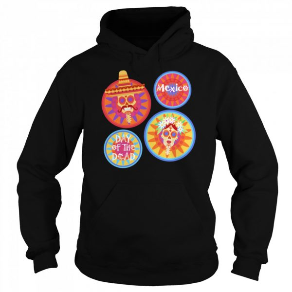 Mexico Day Of The Dead Sugar Skull Couple  Unisex Hoodie