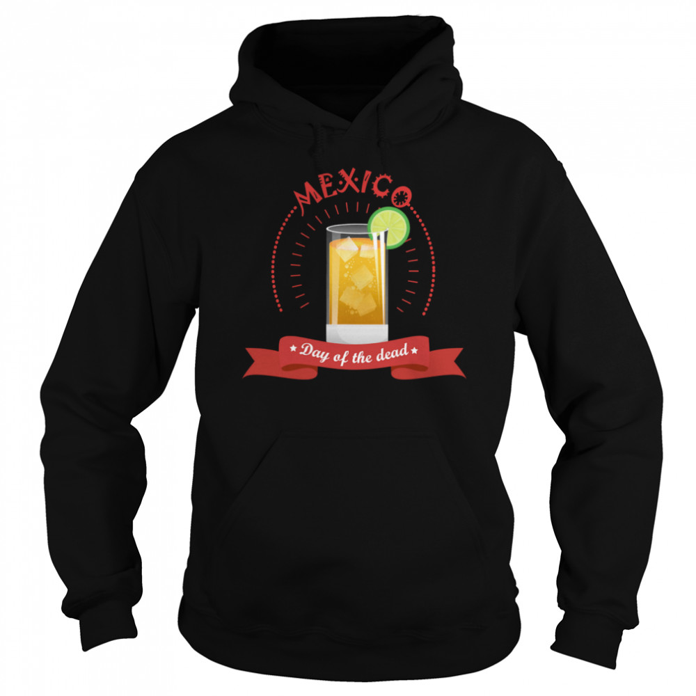 Mexico Liqueur Lemon Day Of The Dead  Unisex Hoodie
