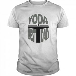 Yoda Best Dad Christmas Day Is Coming  Classic Men's T-shirt