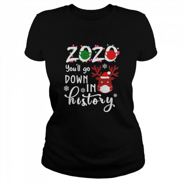 2020 youll go down in history Christmas  Classic Women's T-shirt