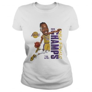 Dwight Howard Team Los Angeles Lakers Branded 2020 NBA Finals Champions  Classic Ladies