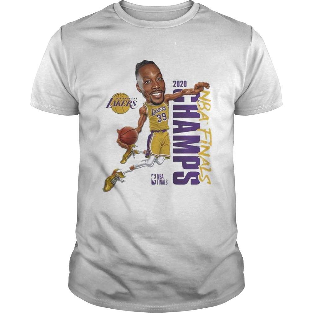 Dwight Howard Team Los Angeles Lakers Branded 2020 NBA Finals Champions  Unisex
