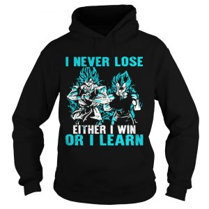 I Never Lose Either I Win Or I Learn  Hoodie