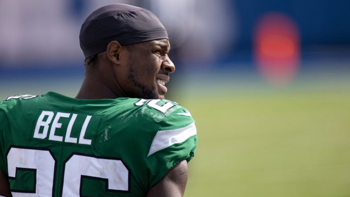 Jets release LeVeon Bell for not finding team
