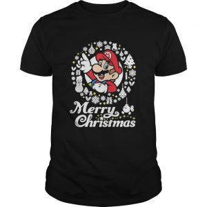 Mario ugly merry christmas  Unisex