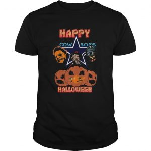 Michael Myers and Freddy Krueger and Jason Voorhees Happy Cow Boys Halloween  Unisex
