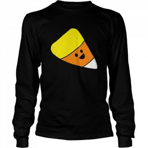 Smiling candy corn  Long Sleeved T-shirt