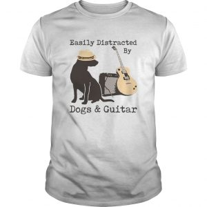 Easily Distracted By Dogs And Guitar  Unisex