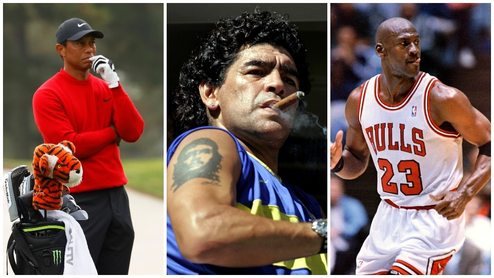 Maradonas frustrated dream meeting Michael Jordan and Tiger Woods