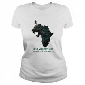 Black Panther The Legend Never Die Thank You For The Memories  Classic Women's T-shirt