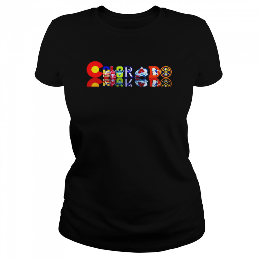 Colorado professional sports Teams  Classic Women's T-shirt