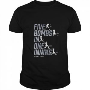 Five Bombs In One Inning  Classic Men's T-shirt