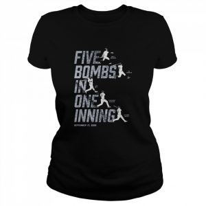 Five Bombs In One Inning  Classic Women's T-shirt