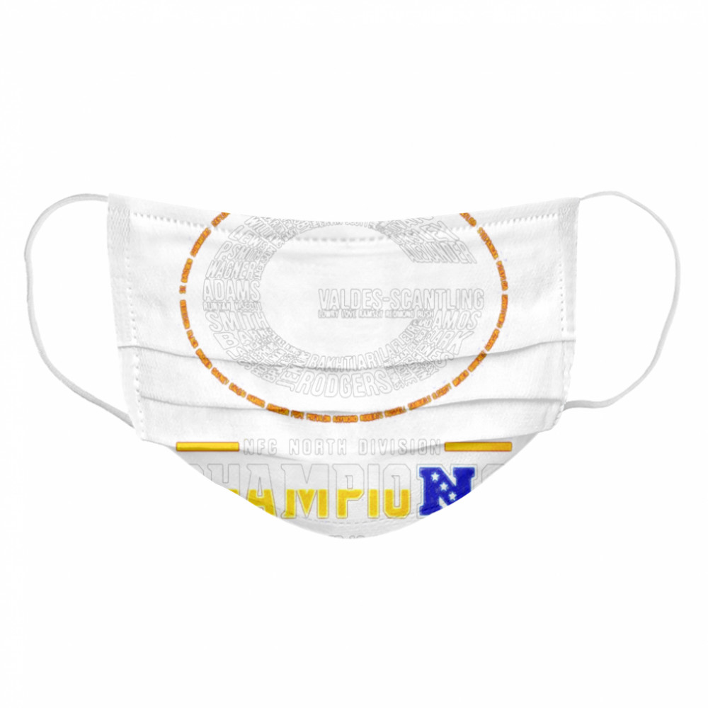 Green Bay Packers NFC north division champions  Cloth Face Mask