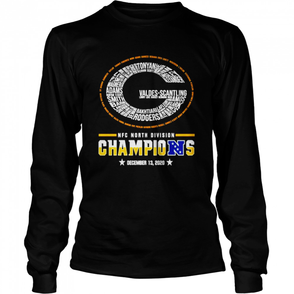 Green Bay Packers NFC north division champions  Long Sleeved T-shirt