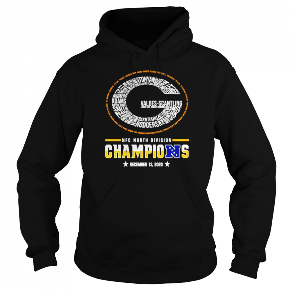 Green Bay Packers NFC north division champions  Unisex Hoodie
