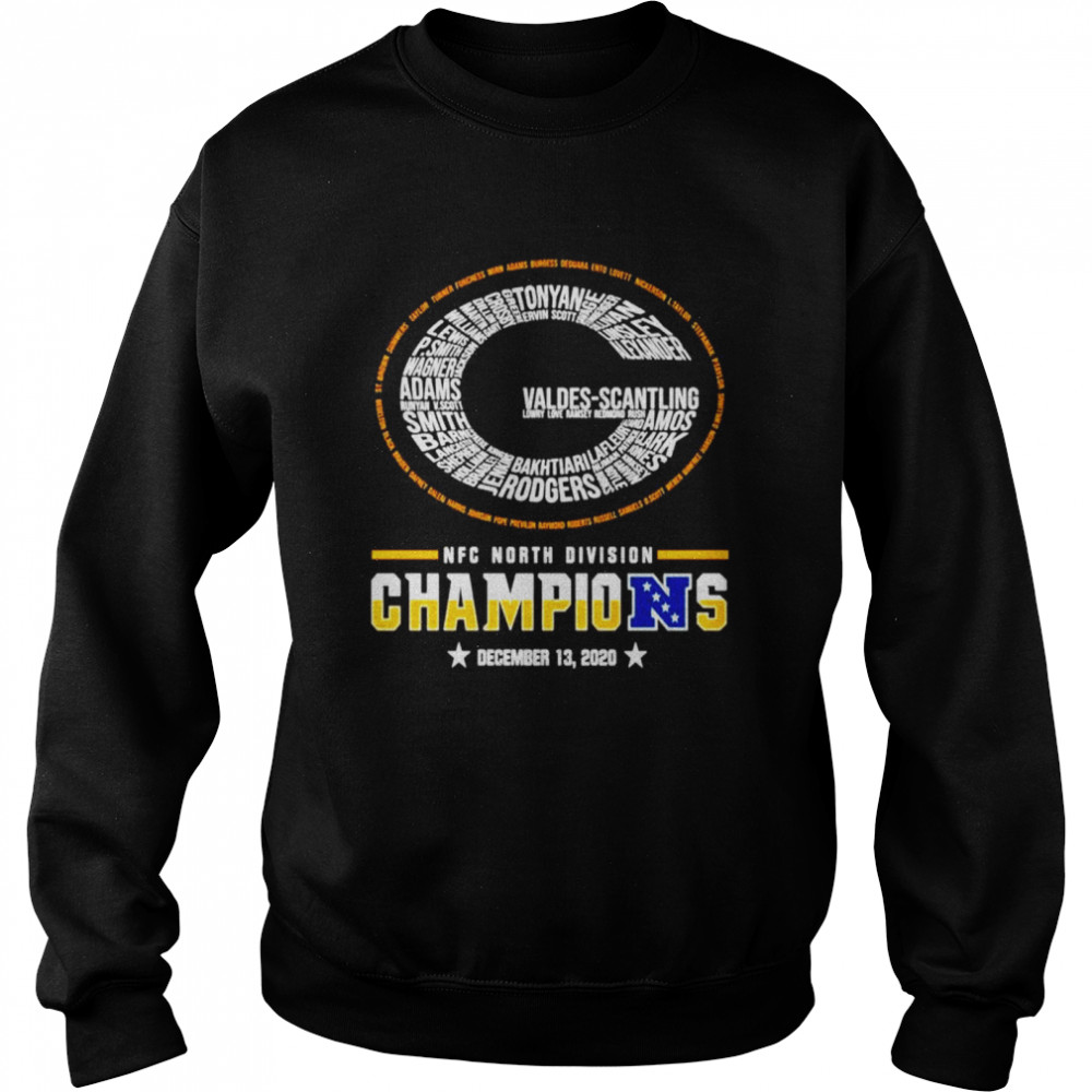 Green Bay Packers NFC north division champions  Unisex Sweatshirt