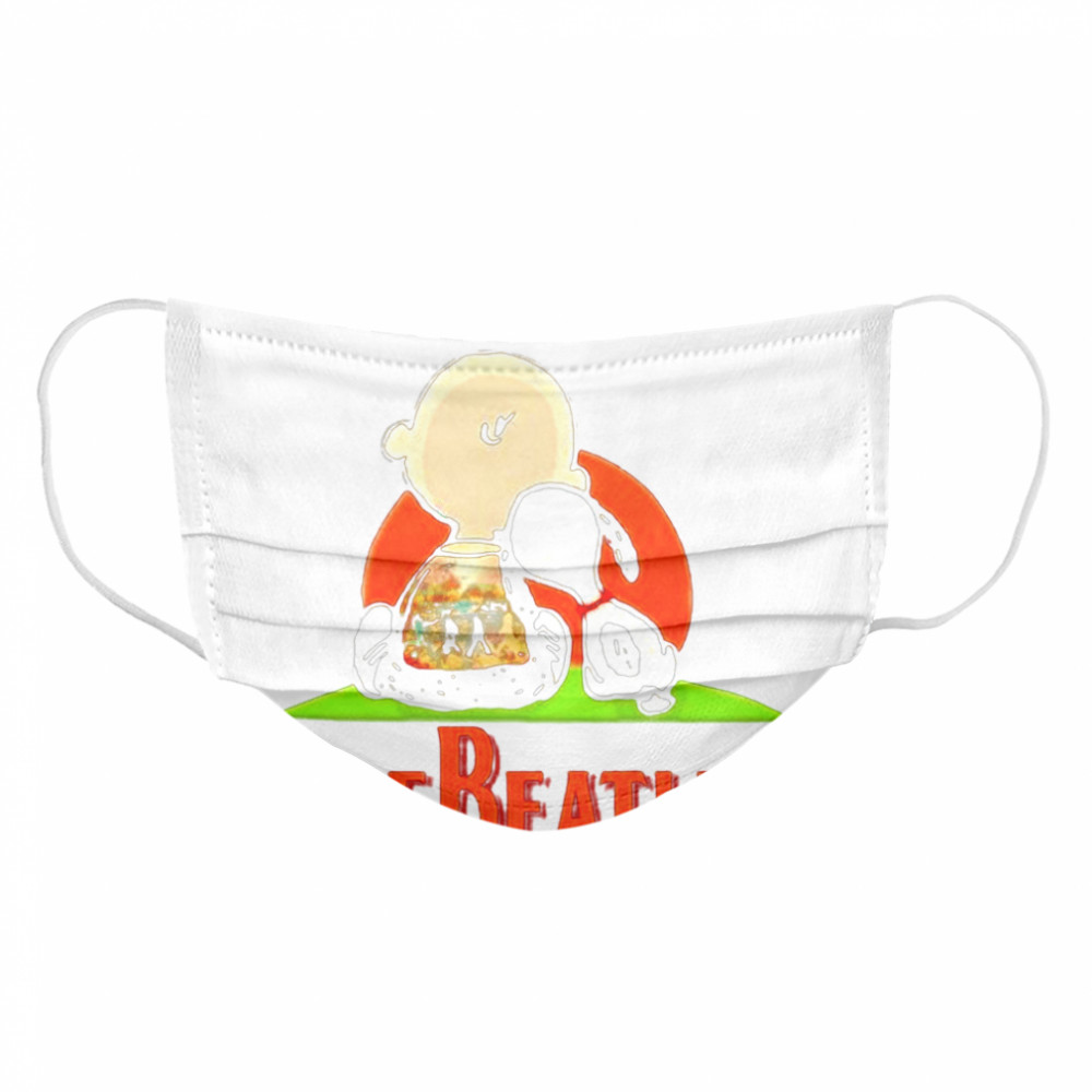 Here Comes The Sun The Beatles Snoopy Friend  Cloth Face Mask