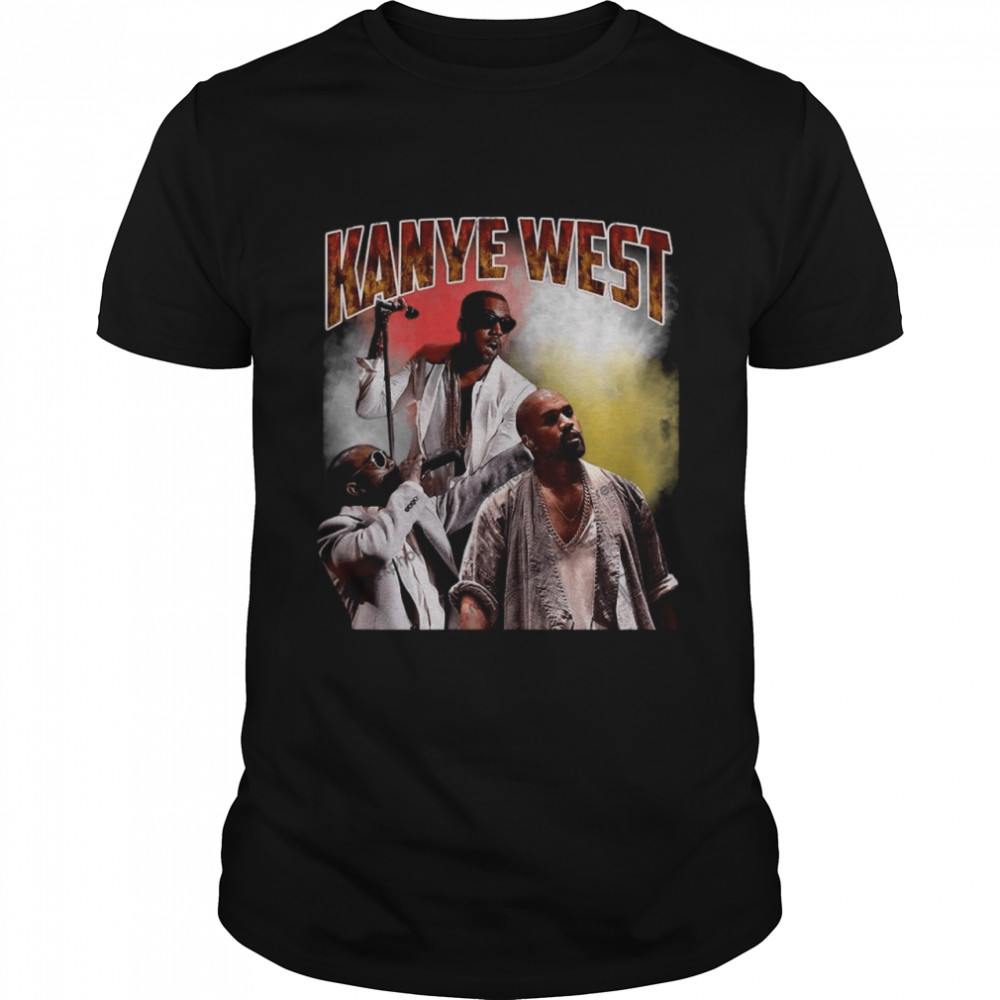 Kanye West Hip Hop Rap Vintage 90s  Classic Men's T-shirt